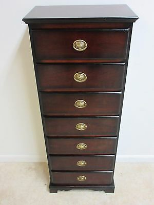 Bombay Company Mahogany Chippendale Dresser Lingerie Chest