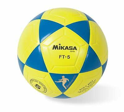 Mikasa Official Goal Master Soccer Football Futbal Size 5 Yellow Blue FT5-BY New