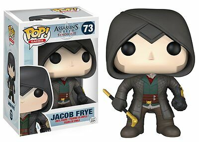 Funko Pop Games Assassin's Creed: Jacob Frye Vinyl Action Figure Collectible Toy