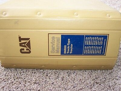 Caterpillar D6RIII D6R Series III Track Type Tractor Shop Service Repair Manual