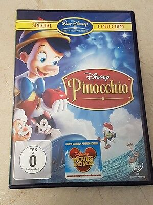 DVD Film Walt Disney Special Collection Pinocchio neu