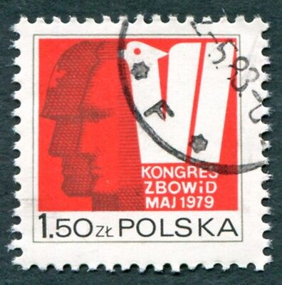 POLAND 1979 1z50 SG2614 used FG NH Liberty Democracy Fighters Association #W27