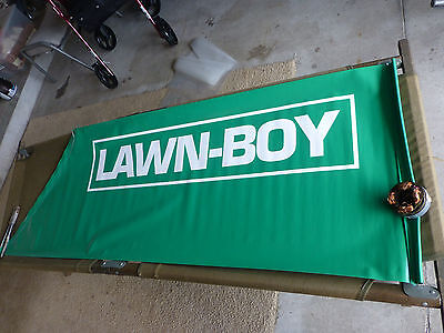 LAWN BOY Yard Tools Advertising Display Banner Sign Sears Stores - New Old Stock