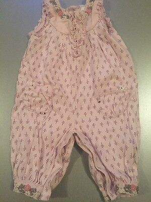 Next Baby Girls Summer Playsuit Outfit 3-6 Months