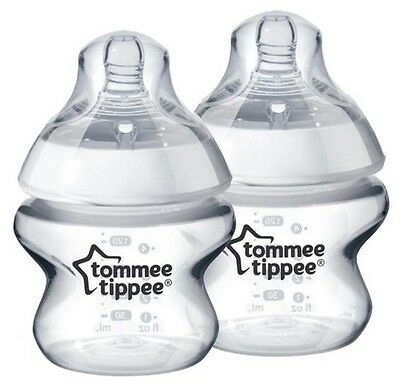 Tommee Tippee Closer To Nature 150ml Bottles X2 Used Once
