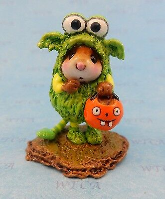 LIL MONSTER by Wee Forest Folk, WFF# M-590, New Halloween Mouse 2016!
