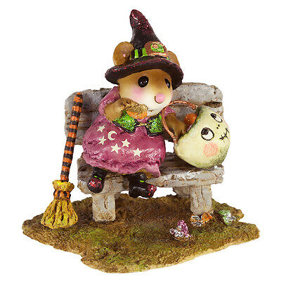 TIME OUT FOR TREATS! by Wee Forest Folk, WFF# M-588, New for Halloween 2016