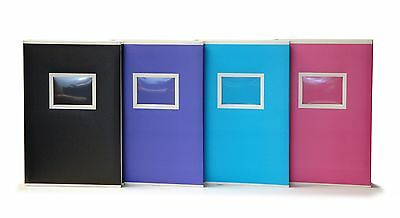 Large Pink Two Tone Memo Slip In Photo Album 300 6 x 4 Photos