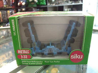 BREMER FRONT TYRE PACKER # 2059 scale 1/32 by Siku NEW