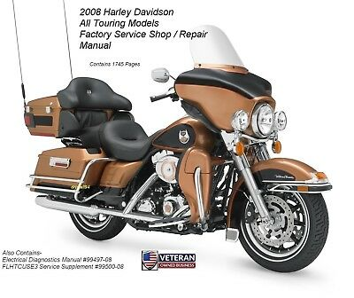 2008 harley davidson dyna motorcycles service repair manual with electrica diagnostics manual free preview