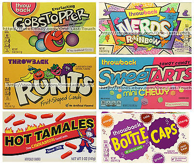 NESTLE 5 oz Candy THROWBACK Candy/Candies THEATER BOX Exp. 3/18+  *YOU CHOOSE*