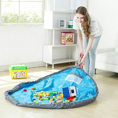 Baby Practical Craw Carpet Toy Storage Bag Waterproof Play Mat