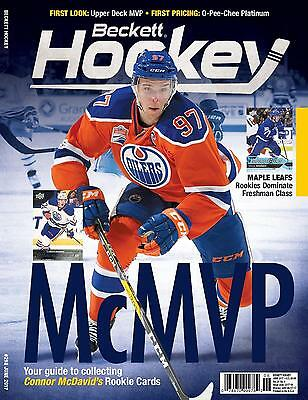 June 2017 Hockey Beckett Monthly Price Guide Vol 29 No. 6 Conner McDavid Oilers
