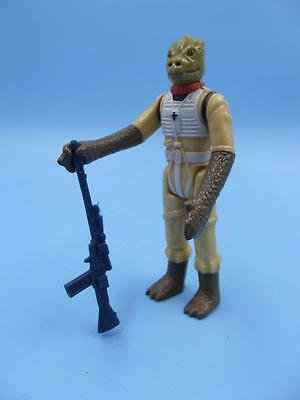 KENNER Original BOSSK 1980  Star Wars 3 3/4 inch Figure with Weapon