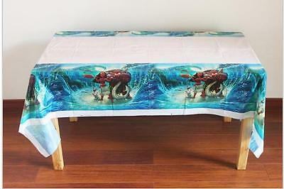 1pcs Decorations Moana table cover Birthday Party Supplies Tableware 108*180cm