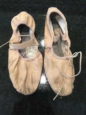 Bloch 4.5 B Leather Ballet Slippers