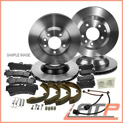 4x BRAKE DISC + SET PADS FRONT+ REAR MERCEDES BENZ VIANO W639 2.0-3.0 2007-