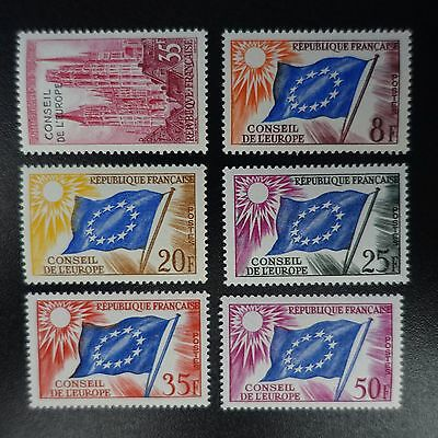 France Timbre De Service N°16 + N°17/21 Neuf ** Luxe Gomme D'origine Mnh