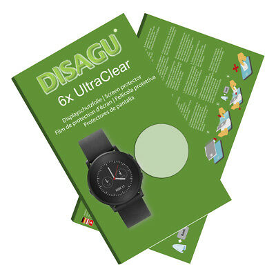6x UltraClear Screen Protector for Pebble Time Round