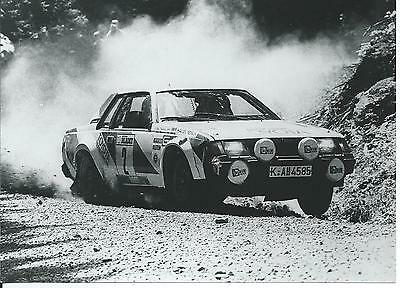 Toyota Celica Waldegaard Thorselius Original Race Rally Photograph