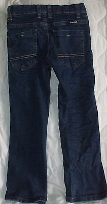 Sz 6 Wrangler Jeans Inside Adjustable Elastic Waistband Boys