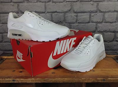 NIKE LADIES UK 3,4,5,6,7 Air Max 90 Ultra Essential White Trainers