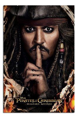 Pirates Of The Caribbean 5 Can You Keep A Secret Poster - Maxi Size 36 x 24 Inch