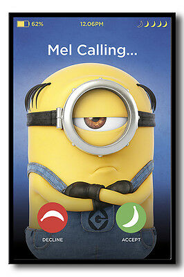 Despicable Me 3 Mel Calling Poster New - Maxi Size 36 x 24 Inch