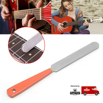 New Guitar Fret Crowning Luthier File Durable Stainless Steel Dual Cut Edge Tool