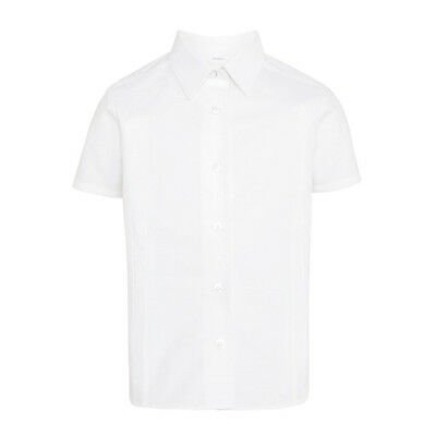 John Lewis   Short  Sleeve Fitted  Cotton  Blouse