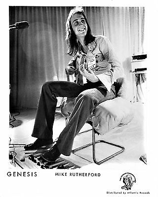 "Genesis Mike Rutherford 10"" x 8"" Photograph no 4"