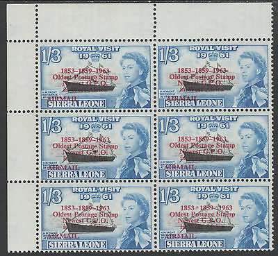 Sierra Leone 3923 - 1963 POSTAL  COMMEMORATION 1s3d VARIETY unmounted mint