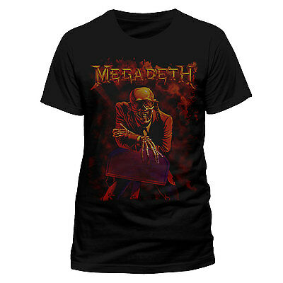 Megadeth T Shirt Peace Sells Officially Licensed Mens Tee Metal Rock Merch New