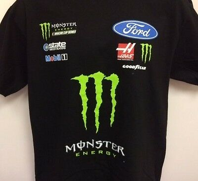 Kurt Busch Monster Energy Name & Number T- Shirt # 41 Adult XL Free Ship