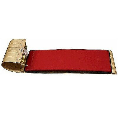 Streamridge - Traditional 4Ft Toboggan with Red Pad