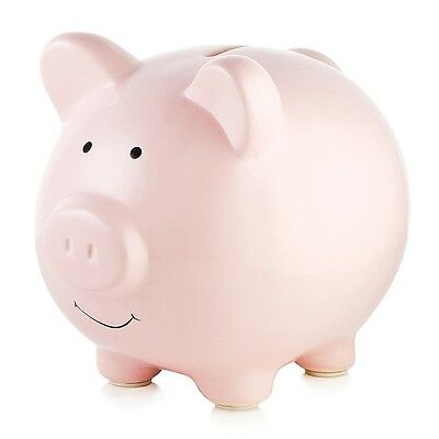 Pearhead Ceramic Piggy Bank - Pink