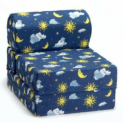 Comfy Kids Flip Chair - Moon & Stars