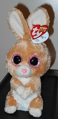 "NM* Ty Beanie Boos ~ CARROTS the 6"" Easter Bunny Rabbit ~ NM with MINT TAGS"