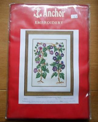 Anchor Embroidery  CONVOLVULUS (after George Mack) embroidery kit unopened