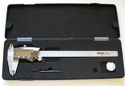 General Ultra Tech 8 Inch Caliper Chrome with case and tool Stainless Steel