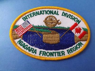 Nmra International Division Patch Niagara Frontier Division Train Collector
