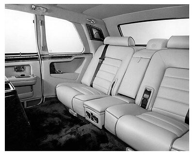 1993 Rolls Royce Silver Spur Touring Limousine Interior Factory Photo uc1390