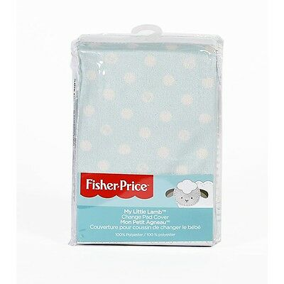 "Fisher Price ""My Little Lamb"" Change Pad Cover"