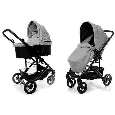 StrollAir Single Stroller CosmoS - Grey
