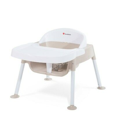 "Foundations Secure Sitter 7"" Feeding Chair - Tan/White"