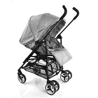 ReVu Single Umbrella Stroller - Grey