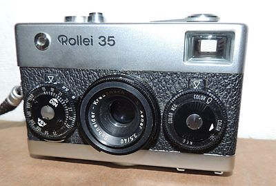 Rollei 35 Singapore Excellent 35Mm Camera With Xenar 40Mm 3.5 Lens