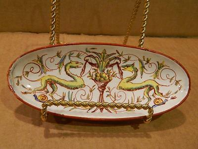 L.M. & Co Small Pin Dish Yndsmedw Pottery Swansea Wales 1860-70