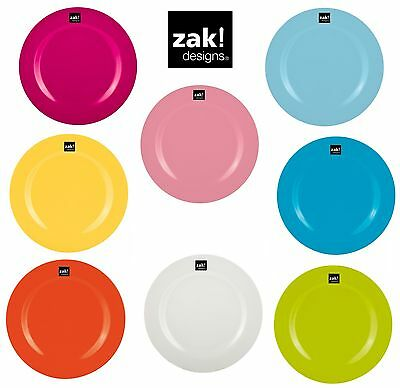 Zak Design BBQ Small Plate, Salad Plate 24cm Optimal for Camping, Picnic
