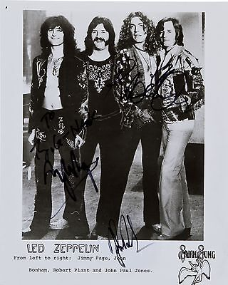 "Led Zepplin 10"" x 8"" Photograph no 15"